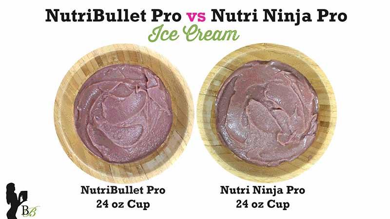 NutriBullet vs Nutri Ninja PRO Ice Cream