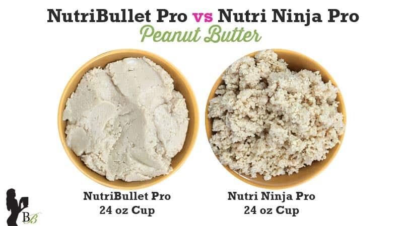 NutriBullet vs Nutri Ninja PRO Peanut Butter