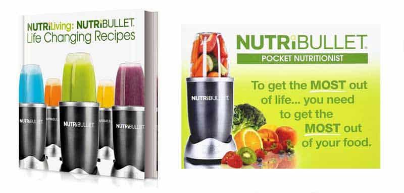 NutriBullet vs Nutri Ninja PRO Recipe Books